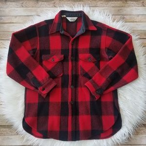 Vintage Woolrich Buffalo Plaid Button Up Shirt